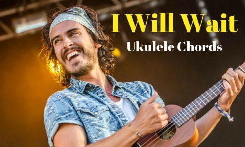 i will wait ukulele