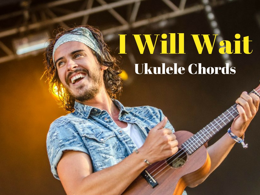 Easy Ukulele Chords For Beginners Coustii Fretboard Diagram How To Play I Will Wait On The