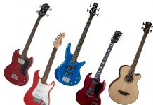 short scale electric guitar